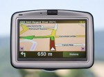 sat nav green arrow