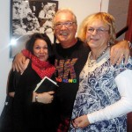 ANdie Davidson with Dino and Sue Evans
